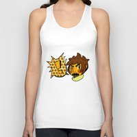 sticker Tank Tops featuring Chip sticker by marvelousghost