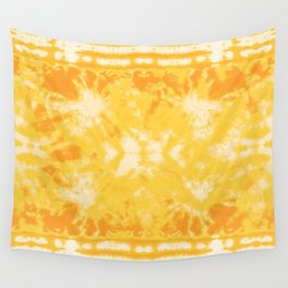 Shibori Beach Sun Wall Tapestry