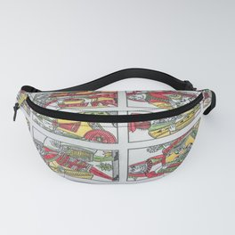 Old playing cards Fanny Pack