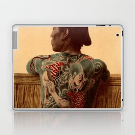 Tattooed Samurai Laptop & iPad Skin