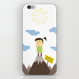Deadline Free Zone- Private iPhone Skin