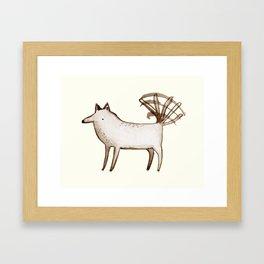 """I'm So Happy"" - Dog Framed Art Print"