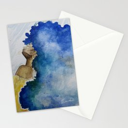 Flowing Crown Stationery Cards