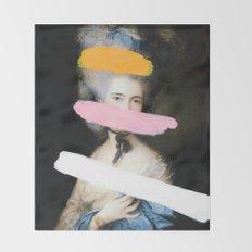 Brutalized Gainsborough 2 Throw Blanket