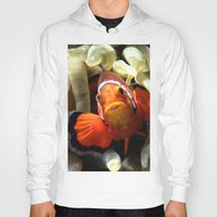 finding nemo Hoodies featuring Nemo  by RevatiN