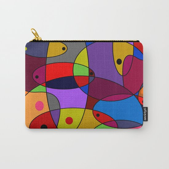 Abstract #55 Carry-All Pouch