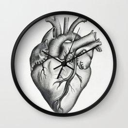 Heart 2 Wall Clock