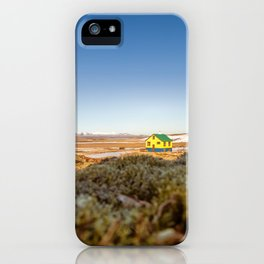 Iceland middle of nowhere iPhone Case