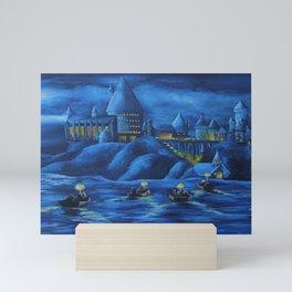 Hogwarts castle Mini Art Print