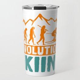 Evolution Skiing Travel Mug
