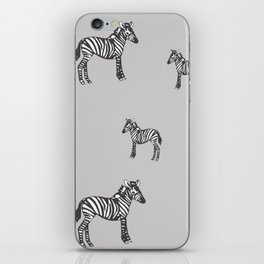 Zebras iPhone Skin