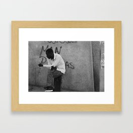 Bystander Framed Art Print