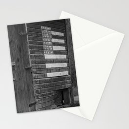Barn with American Flag Stationery Cards