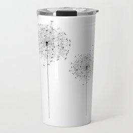 Two  Dandelion Travel Mug