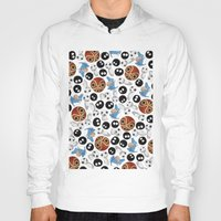 ghibli Hoodies featuring Ghibli Pattern by pkarnold + The Cult Print Shop