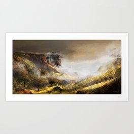 Ancient Guardian Art Print
