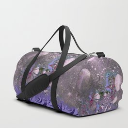 The ocean and skies of random thoughts Duffle Bag