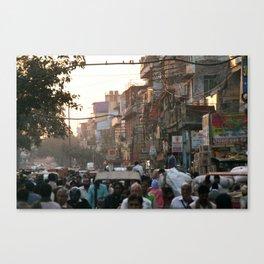 Buzzy Delhi Canvas Print