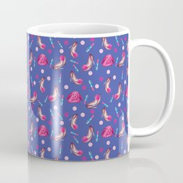 Cute Fashion Girl Design Collection 2018 B by #MahsaWatercolor Coffee Mug