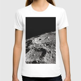 Terraced Wall Crater on the Lunar Limb T-shirt