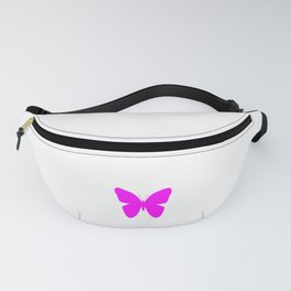Pink Butterfly For Pink People Fanny Pack