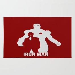 Robert Downey Jr Iron Man Concept Minimalist Design Rug