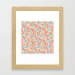 Day Dahlia Framed Art Print