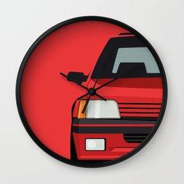 Classic 90s Hatchback 2 Wall Clock