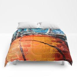 Basketball art swoosh vs 14 Comforters