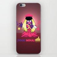 minaj iPhone & iPod Skins featuring Jynxi Minaj  by The Art of Leena Cruz :)