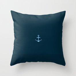 The Anchor Throw Pillow