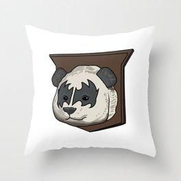 Gene Simmons Panda Throw Pillow
