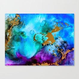 Gilded Cosmos II Canvas Print