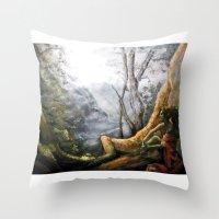 elf Throw Pillows featuring Elf by Cassie's Wonderland