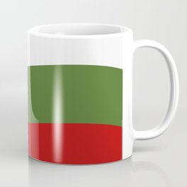 Bulgarian flag Coffee Mug