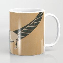 Vintage Illustration of a Bald Eagle (1917) Coffee Mug