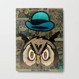 Owl Howl Metal Print