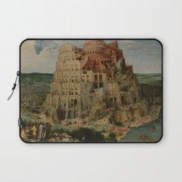 The Tower of Babel Pieter Bruegel the Elder Laptop Sleeve