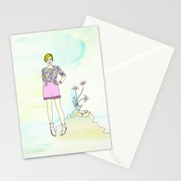 PING PONG KITTEN Stationery Cards