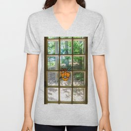 Mask and Quill Unisex V-Neck