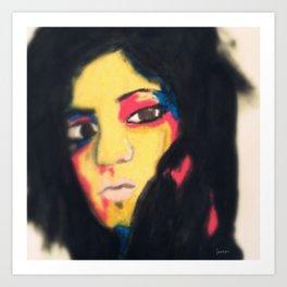 Ratna #facesilove Art Print