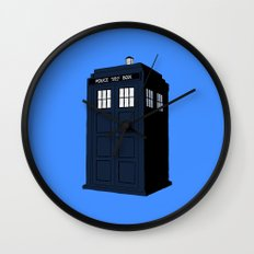 Dr Who - The Doctor's Tardis - Police Phone Box Wall Clock