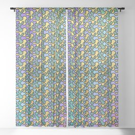 Pattern 002: Blobs Sheer Curtain