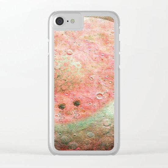 Flores De Luna Clear iPhone Case