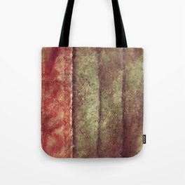 Bookmark Leather Tote Bag