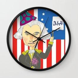 George Washington Celebrates Wall Clock
