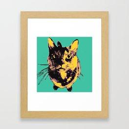 Warhol Drama  Framed Art Print