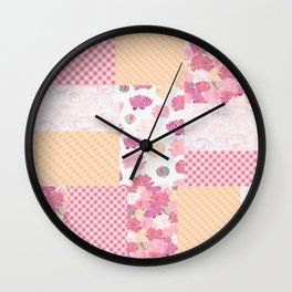Beautiful Patch 6 Wall Clock