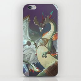 The Dreamteller of Travel iPhone Skin