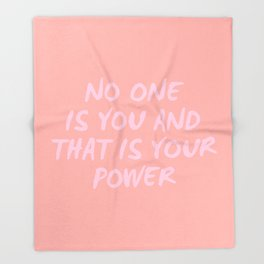 that is your power Throw Blanket